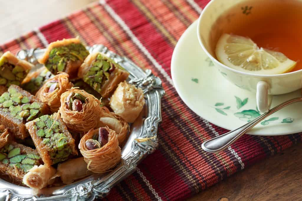 Greece - Pistachios and Pistachio Pastries - Greek Souvenirs and Greek Gifts