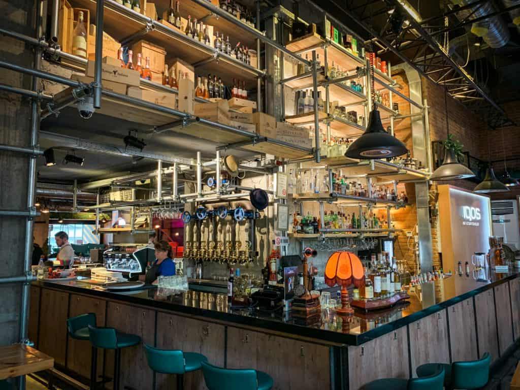 Tirana - Albania - cafe bar City Art