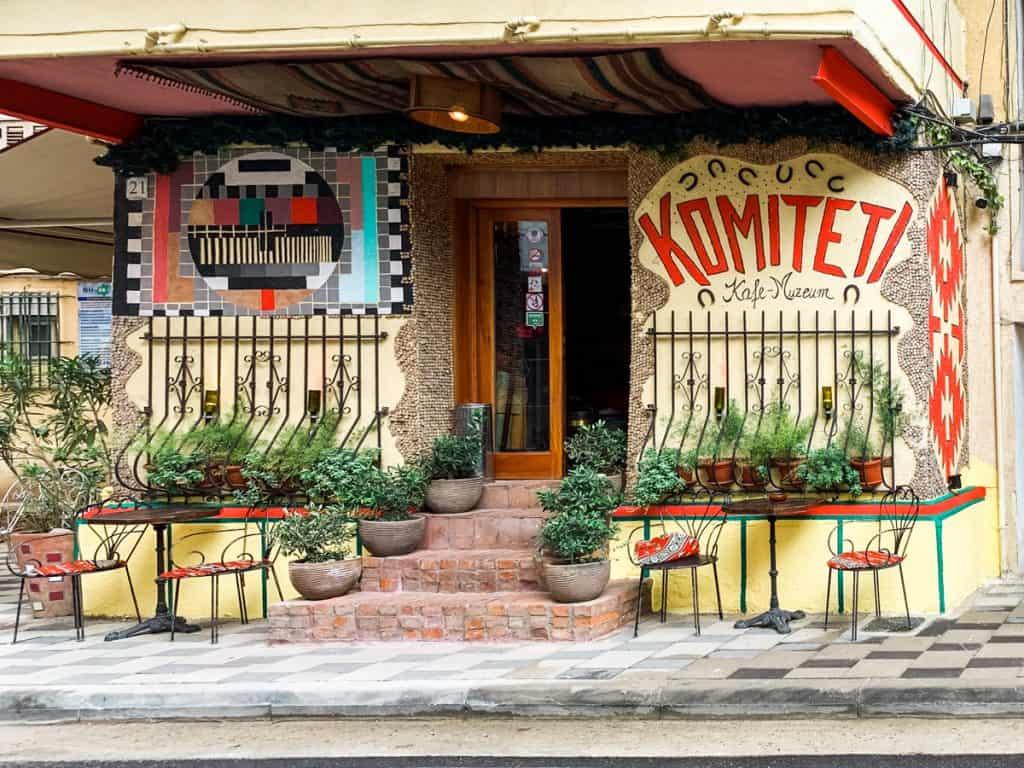 Tirana - Albania - cafe Kometeti