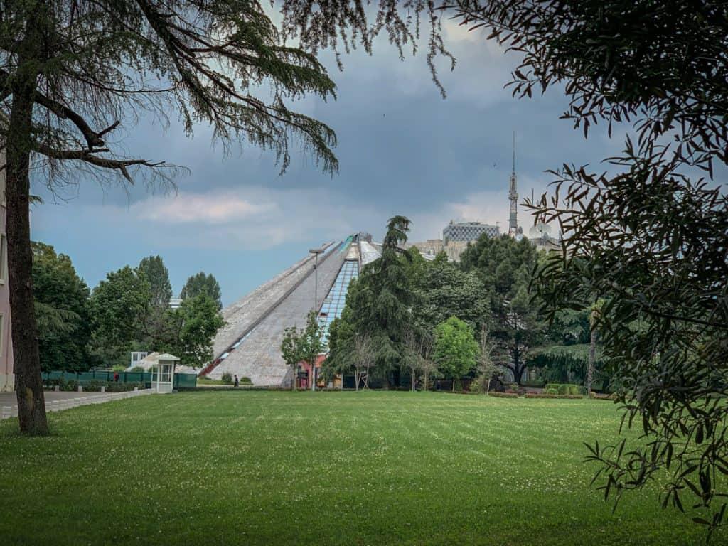 Tirana - Albania - Pyramid Piramida