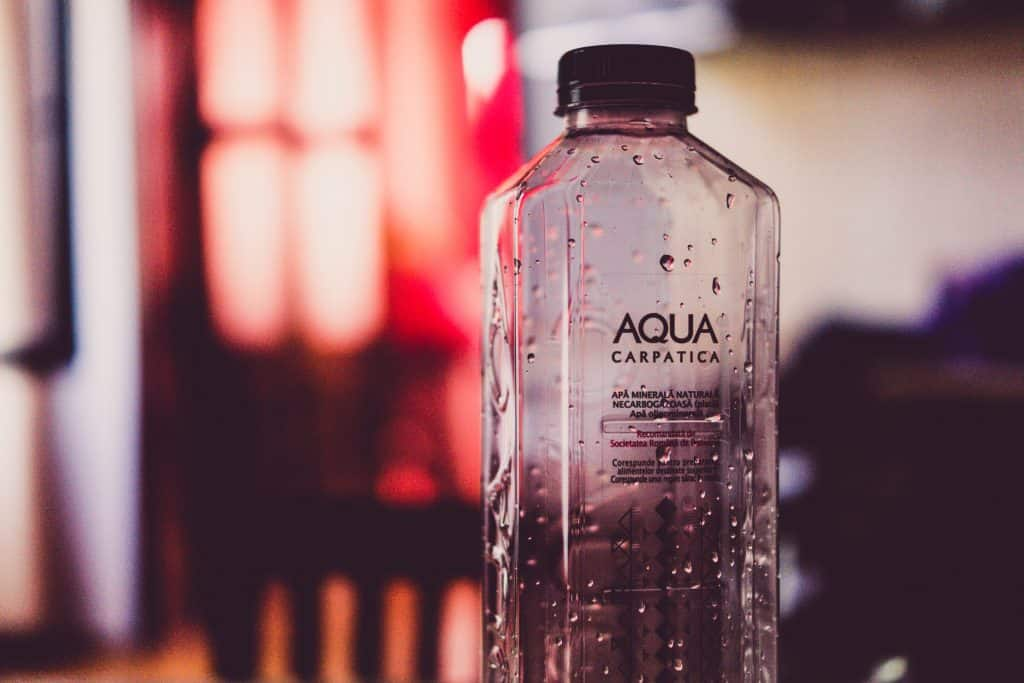 Canva - Empty Aqua Plastic Bottle