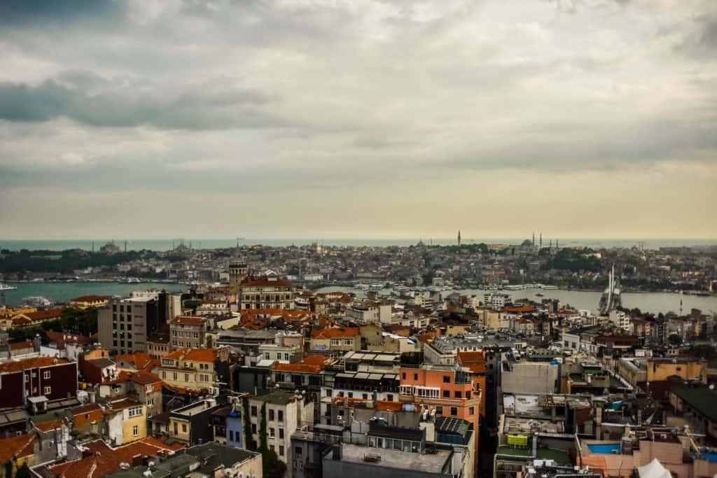 Turkey - Istanbul - View from Mikla