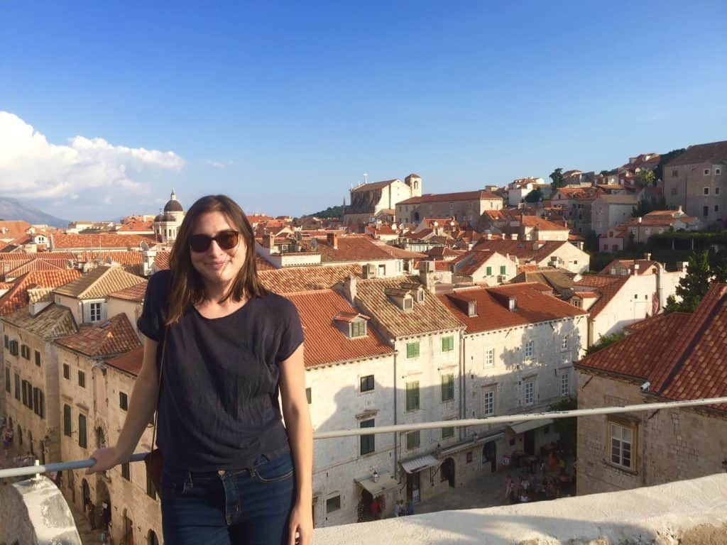Allison in Dubrovnik