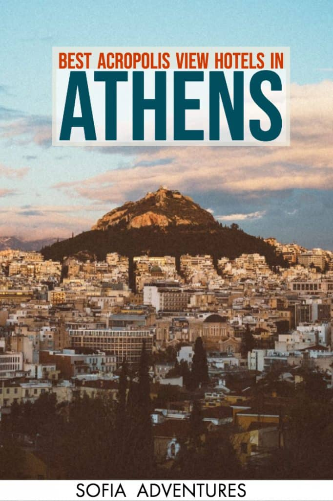 Want to stay near the Acropolis in Athens? Here are all the best views in Athens of the Acropolis, full of hotels with Acropolis views that will make your jaw drop. From awesome rooftop bars in Athens and restaurants with an Acropolis view. These awesome hotels have stellar Athens views. Includes an Athens map of hotels, some of the best photography locations in Athens, and where to stay in Athens to get the best photos of the Acropolis!