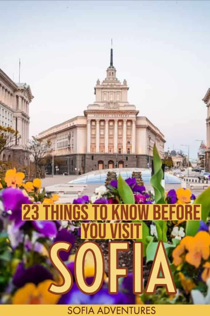 Going to visit Sofia, Bulgaria's capital city? Here are 23 essential Sofia travel tips that will make your stay in Sofia a breeze. From SIM cards to Sofia taxi apps to restaurant tips and insider knowledge, we've collected all our best Sofia tips into this mega-post so you can have a safe, stressfree trip.
