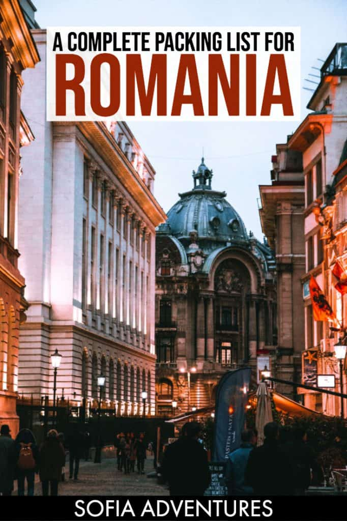 Want to visit Romania but don't know what to pack for Romania? This complete Romania packing list includes what to wear in Romania in every season - including Romania in winter! This is everything you need for a trip to Romania, Transylvania, Bucharest - even the mountains!