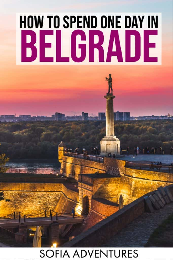 Planning a trip to Belgrade? If you only have one day in Belgrade, this is the only guide you need! This covers all the best things to do in Belgrade in a single day, so if you only have 24 hours in Belgrade you'll still maximize your time and see all the best places to visit in Belgrade.