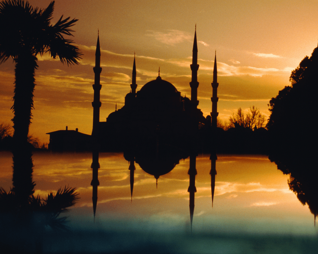 Turkey - Istanbul - Blue Mosque at Sunset - Canva