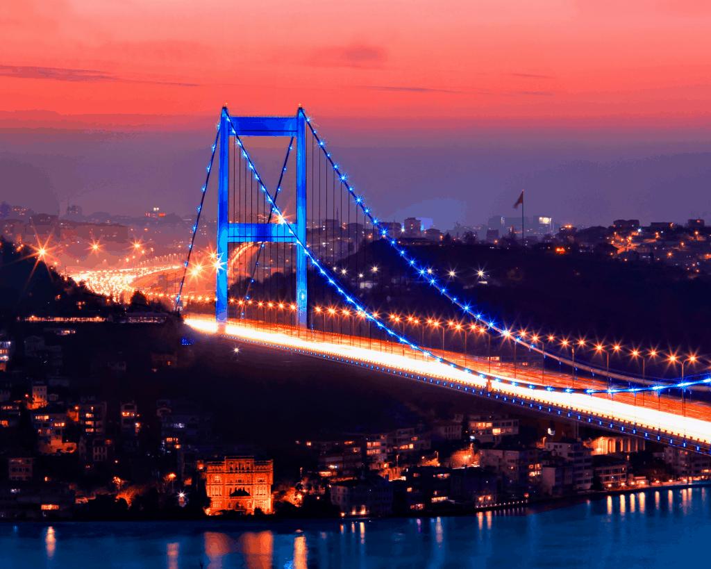 Turkey - Istanbul - Bosphorus Bridge - Canva