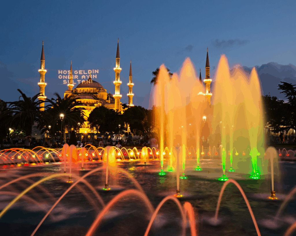Turkey - Istanbul - Fountain - Canva