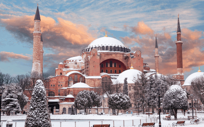 Turkey - Istanbul - Hagia Sofia in Winter - Canva