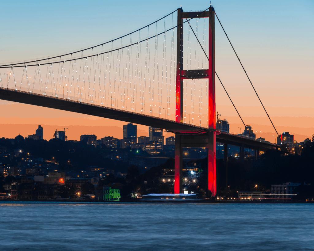 Turkey - Istanbul - Istanbul Bosphorus at Night - Canva