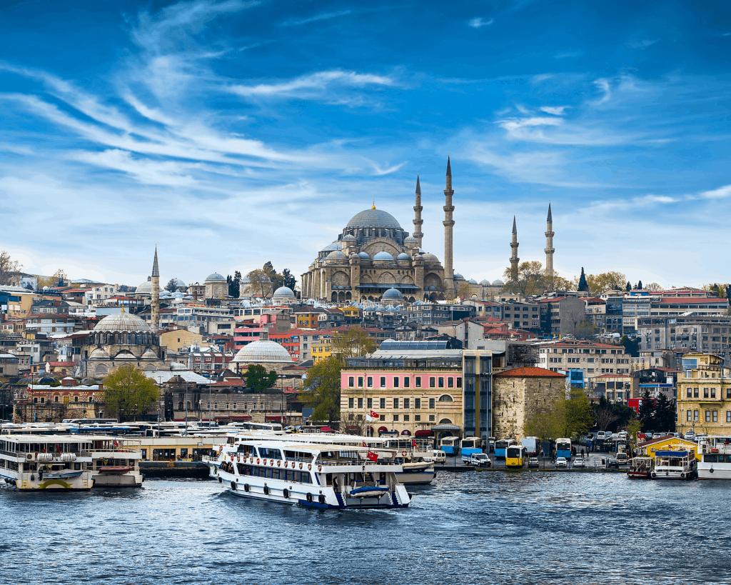 Turkey - Istanbul - Istanbul Skyline - Canva