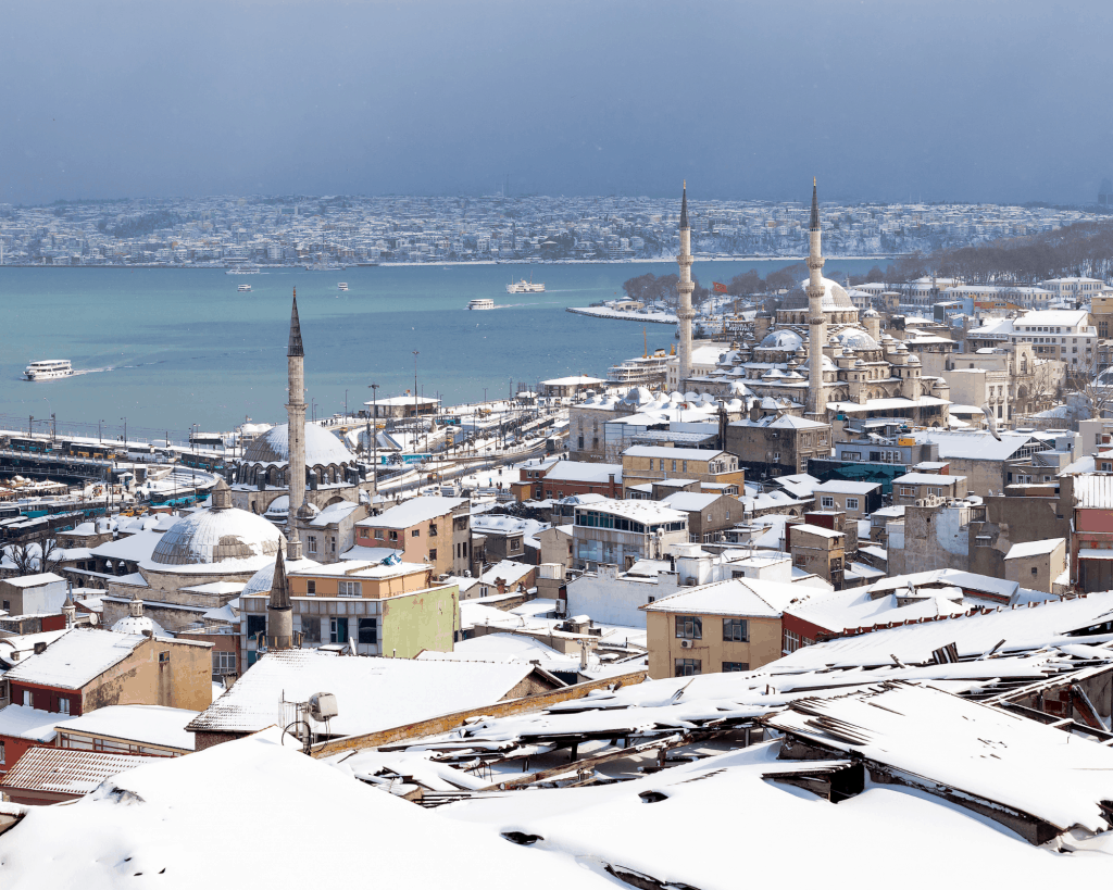Turkey - Istanbul - Istanbul in January in Winter - Canva