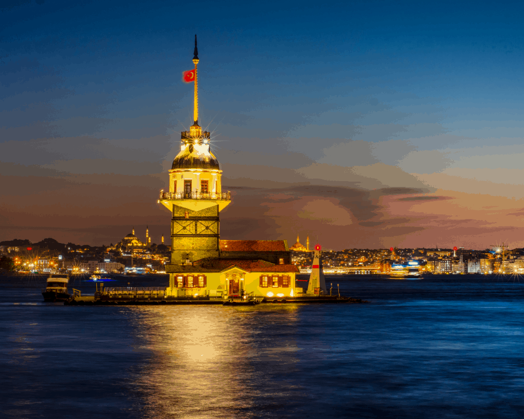 Turkey - Istanbul - Maidens Tower - Canva