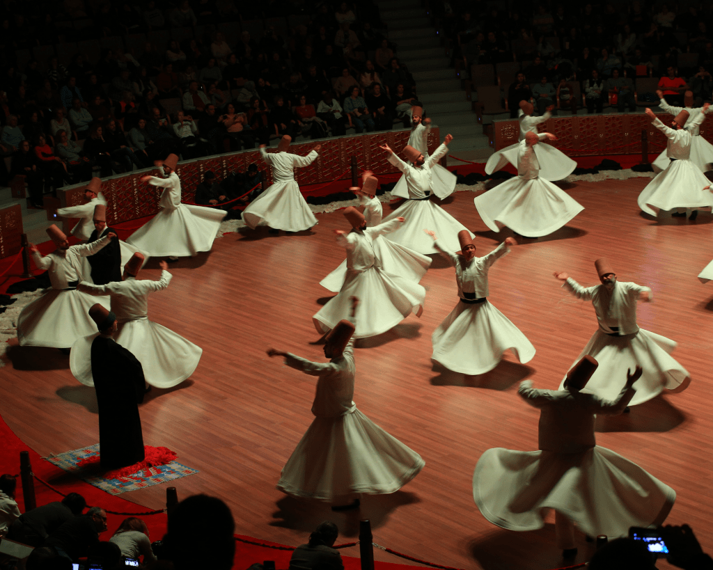 Turkey - Istanbul - Whirling Dervish Show - Canva