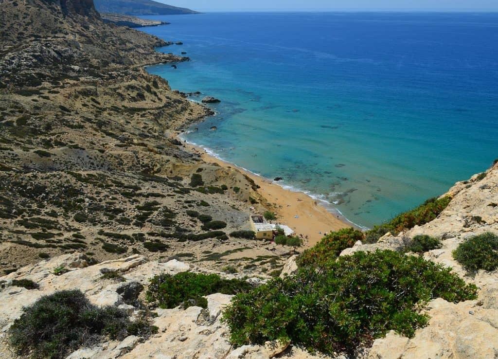 Greece - Crete - Matala Beach