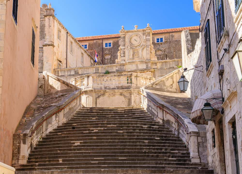 """Dubrovnik - Croatia - Staircase from """"Shame"""" scene in Game of Thrones"""