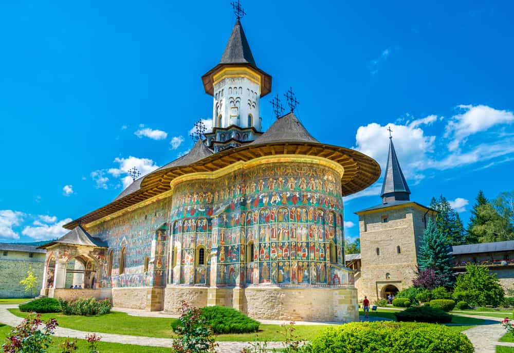 Romania - Sucevița Monastery - Shutterstock