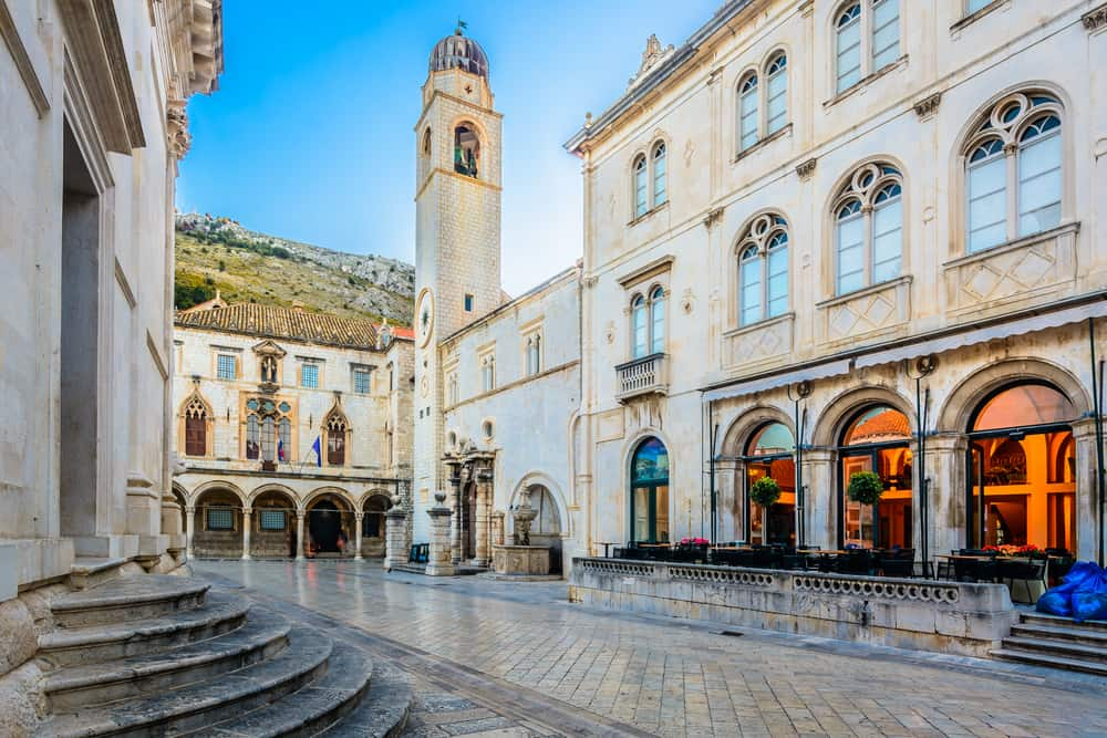 Dubrovnik - Croatia - Stradan Street and Tower