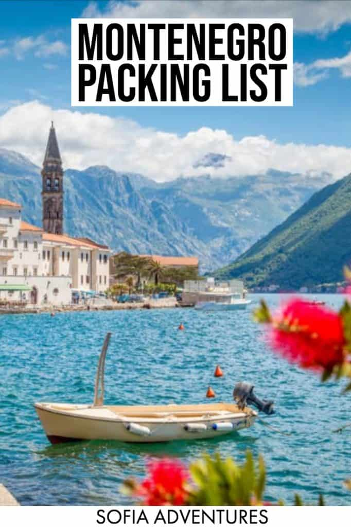 Planning to travel Montenegro? This ultimate Montenegro packing list will tell you what to wear in Montenegro in summer, winter, fall, & spring! This packing list for Montenegro for women & men covers beaches, mountains, hiking, & beyond: it's your ultimate guide to what to pack for Montenegro!