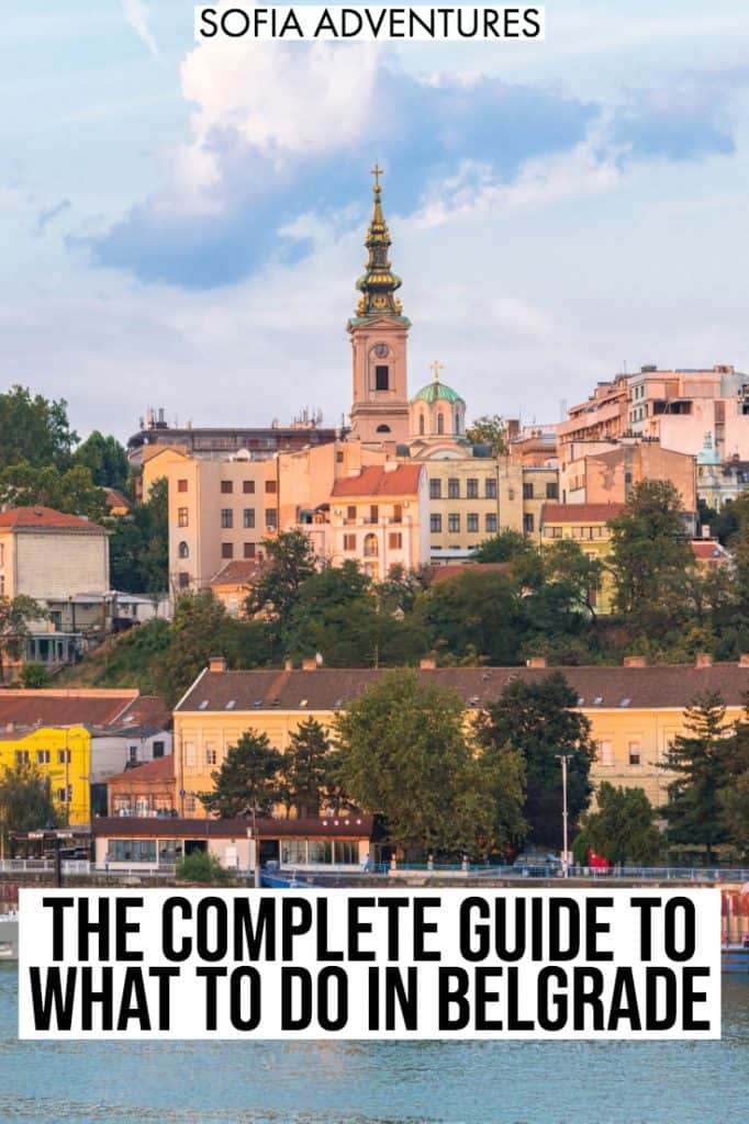 Going to travel Belgrade, Serbia? We've picked out the best things to do in Belgrade, from photography spots to delicious food and restaurants to awesome nightlife spots. From the architecture of Zemun to the Instagram aesthetic of Stari Grad to the shopping of Knez Mihailova, here's all you need to plan the perfect Belgrade itinerary. Enjoy this Belgrade travel guide!