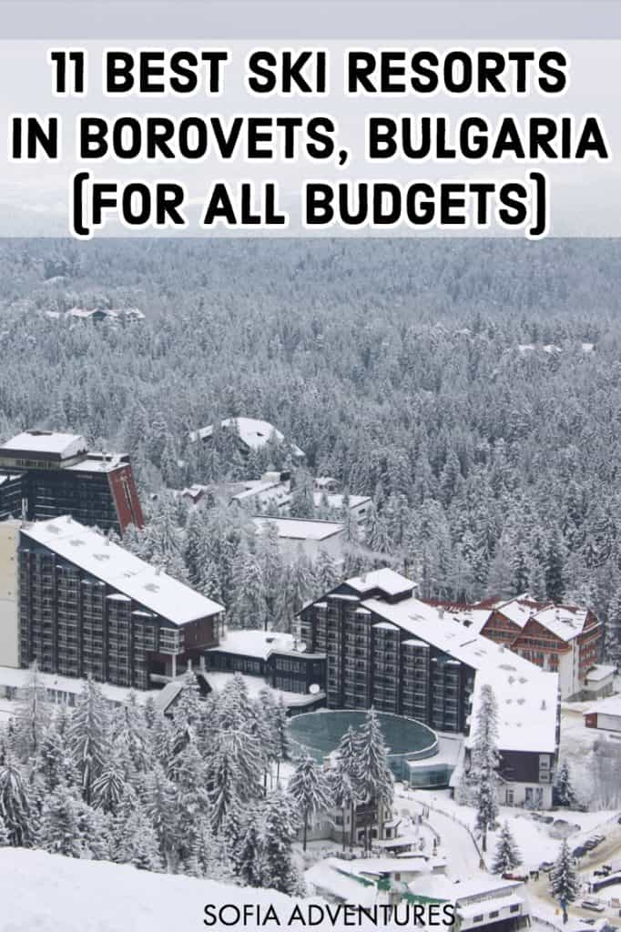 Planning a Bulgaria ski holiday? Whether you pick Borovets or Bansko, there are plenty of amazing ski resorts in Bulgaria. In this post we list the best ski resorts in Borovets, so you can pick the perfect Borovets accommodation (whether it be a hotel, a ski resort, or a villa) for your budget! Read this guide to where to stay in Borovets, Bulgaria for your ski vacation.