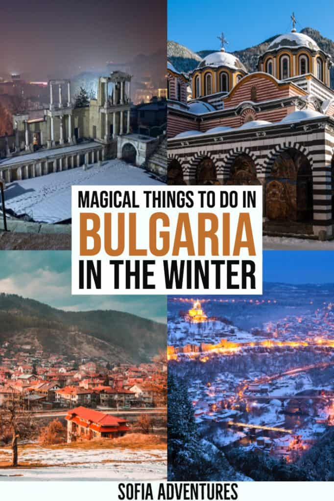 Want to visit Bulgaria in winter? This guide to the best Bulgaria winter activities includes tips on where to ski in Bulgaria, the best Bulgarian resorts, hot springs in Bulgaria, and lovely cities in Bulgaria for a winter city break.