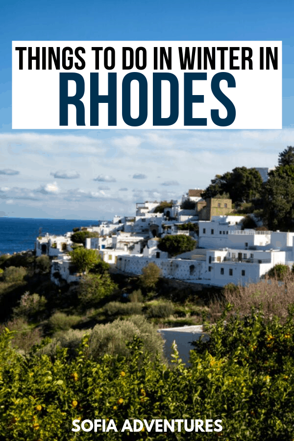 The Best Things to Do in Rhodes in Winter