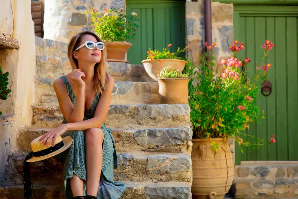 Greece - Crete - Woman - Chania