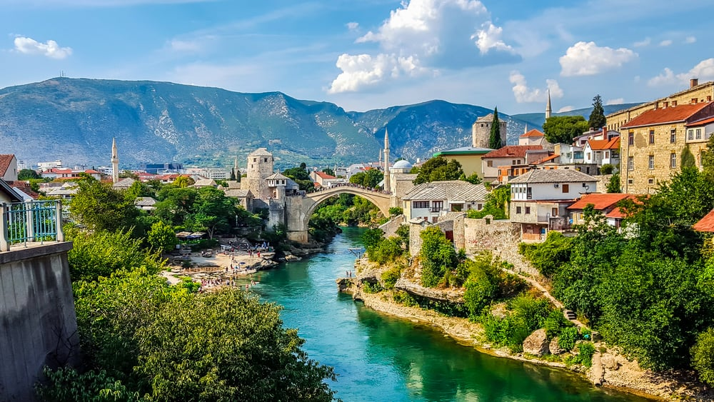 Bosnia - Mostar - Mostar Bridge