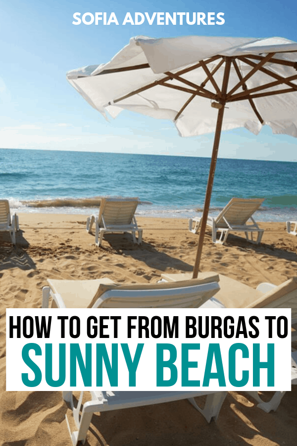 Burgas to Sunny Beach