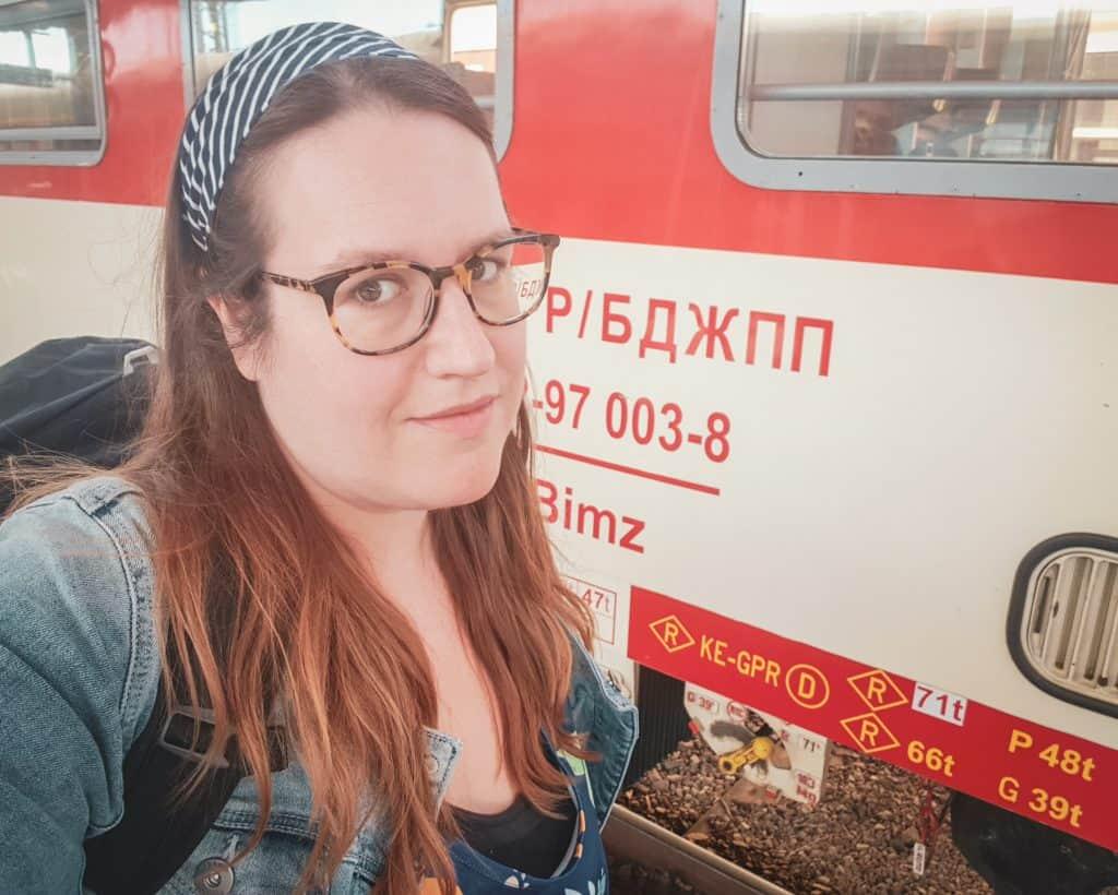 Bulgaria - Burgas - Stephanie Train Station Selfie
