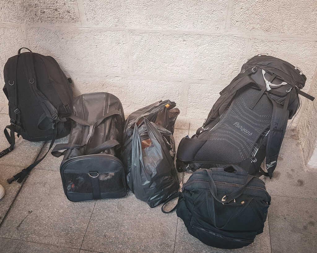 Bulgaria - Burgas - Luggage