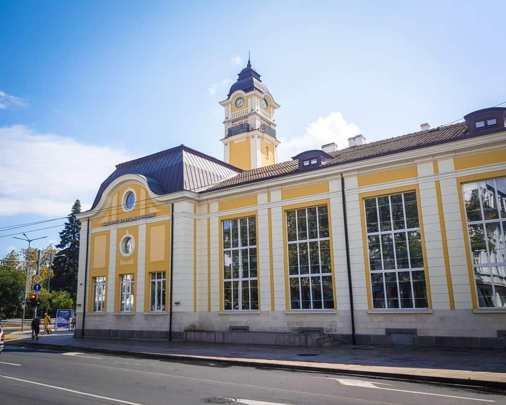 Bulgaria - Burgas - Train Station