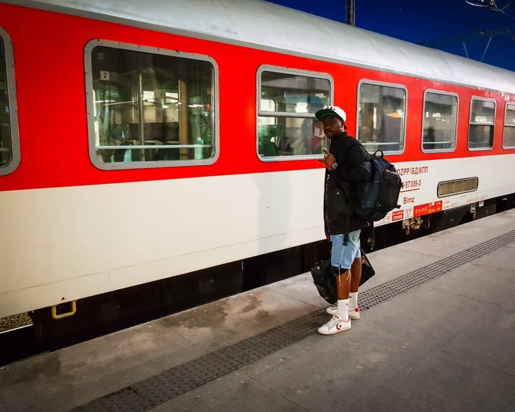 Bulgaria - Sofia - Train Station Valentine
