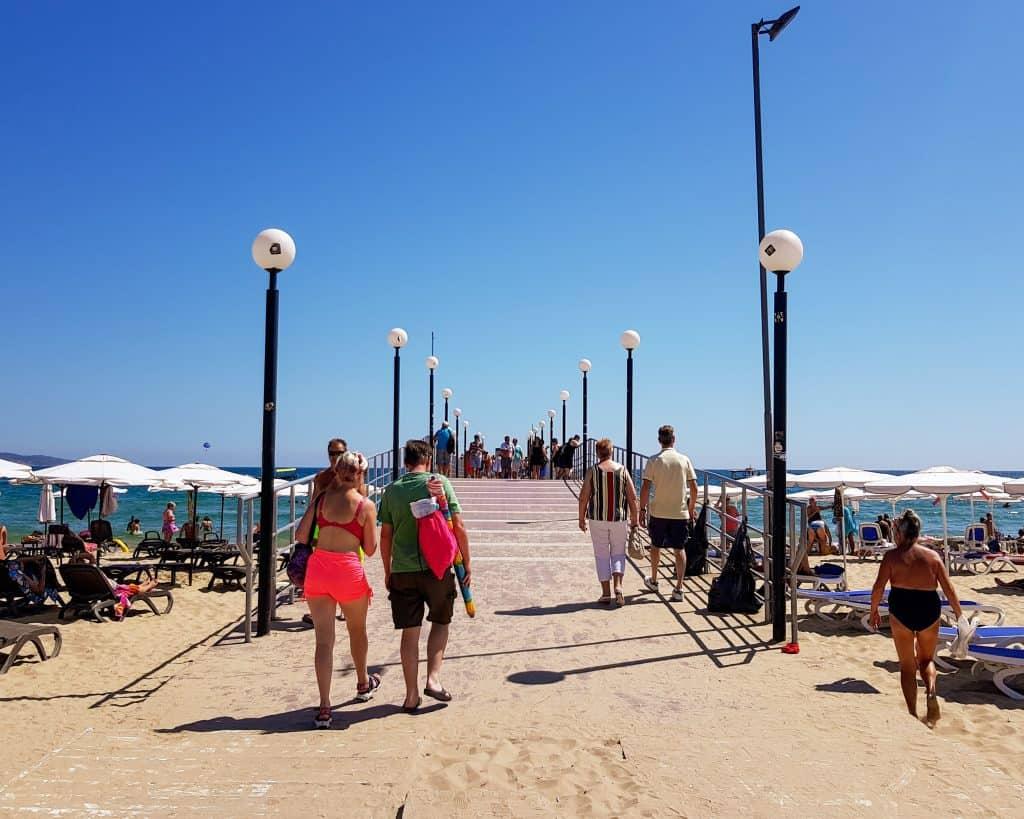 Bulgaria - Sunny Beach - Pier