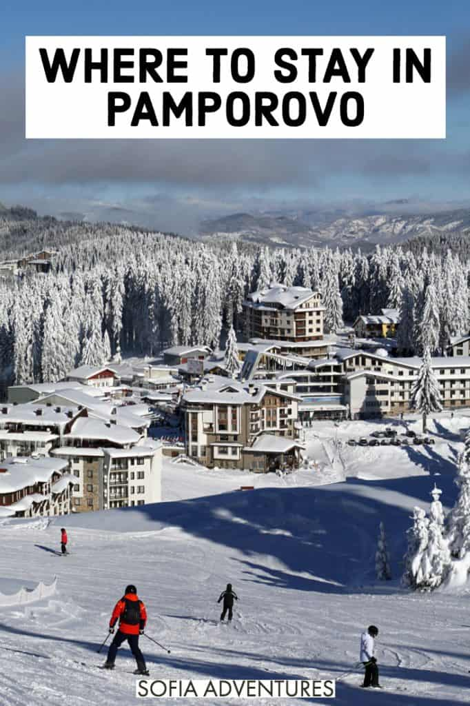Planning to ski in Bulgaria? Pamporovo is one of Bulgaria's best ski resorts. Here's where to stay in Pamporovo, Bulgaria for a fabulous ski vacation.