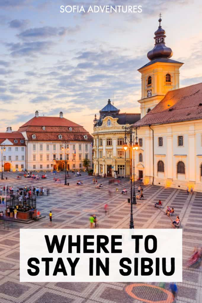 Don't yet know where to stay in Sibiu, Romania? This Sibiu travel guide lists the best Sibiu hotels and accommodations. Whether you want to visit Sibiu on a budget or stay in a luxury hotel in Sibiu, here are our top picks closest to the best things to do in Sibiu, top Sibiu photography spots, Piata Mare (great for Christmas markets & Winter), fantastic Sibiu restaurants and beautiful medieval UNESCO Sibiu streets!