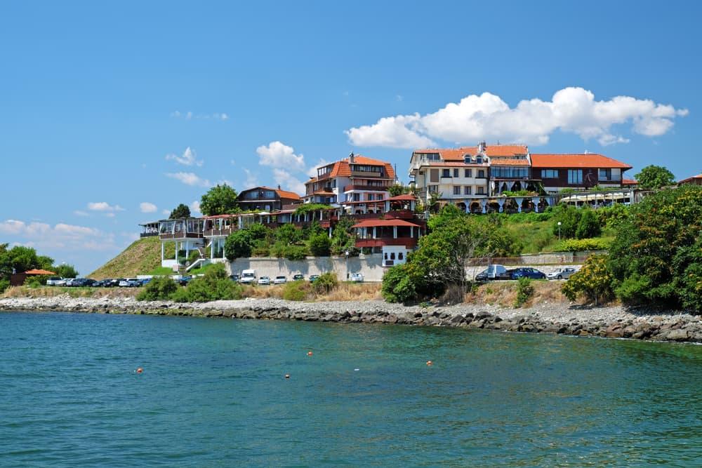 Bulgaria - Nessebar - Coast in old city of Nessebar, Bulgaria