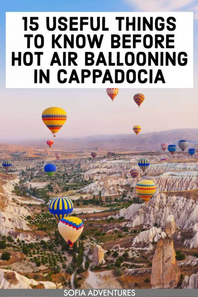 Planning to visit Cappadocia, Turkey — land of balloons, Instagram perfect breakfasts, sunrises, brilliant skies, and beauty? This guide to Cappadocia hot air balloon rides will be super helpful! From photography tips to landscape photography to if you can fly in winter to  safety to Cappadocia prices and budget tips. Also includes tips on outfits, food, hotels (including ones in caves!), and what to pack for Cappadocia to help you plan your trip.