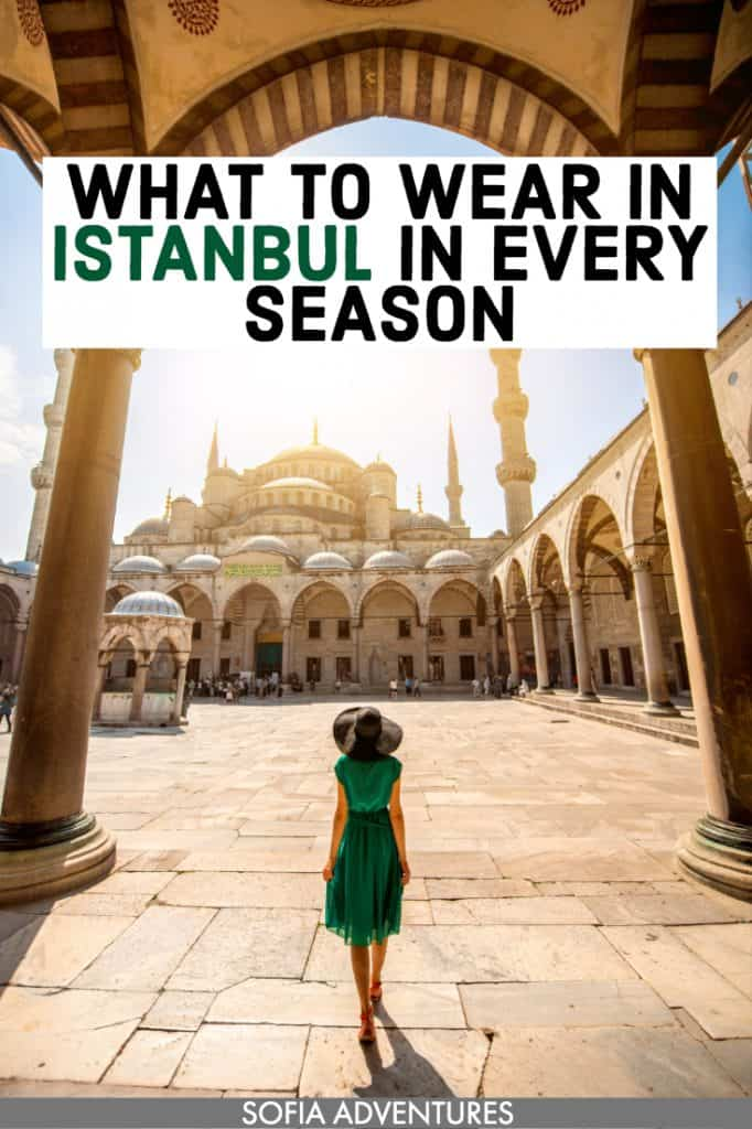 Don't know what to pack for Istanbul, Turkey? This guide to what to wear in Istanbul in summer, spring, fall / autumn, & winter will be your guide! Including tips for dressing appropriately to visit mosques, street style, clothes great for travel photography, outfit inspiration, shopping ideas, & fashion tips. Here's how to dress in Istanbul in January, February, March, April, May, June, July, August, October, November, & December! Istanbul packing list / Turkey packing list