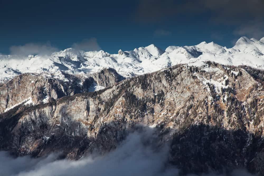 Slovenia - Mount Triglav - mount Triglav in winter, Julien alps, Slovenia - Image