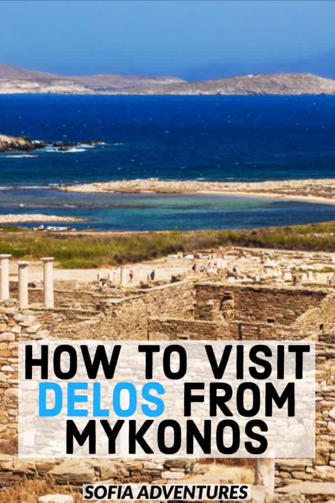Planning to visit Mykonos, Greece? Make sure you make time for a day trip to Delos from Mykonos. Delos Island is an incredible UNESCO archaeological site, an ancient island full of history. Here are crucial things to know before you go from Mykonos to Delos on a day trip: one of the best things to do in Mykonos on your Greece itinerary.