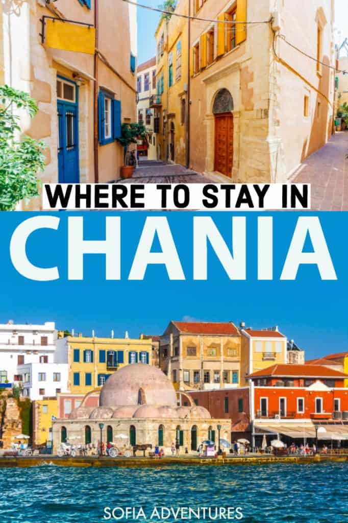 Planning a trip to Crete, Greece? If you're going to Chania, use our guide to where to stay in Chania to pick the perfect Chania hotel for your Crete vacation! Including hotels near the Venetian harbor, here are the best places to stay in Chania, Crete!