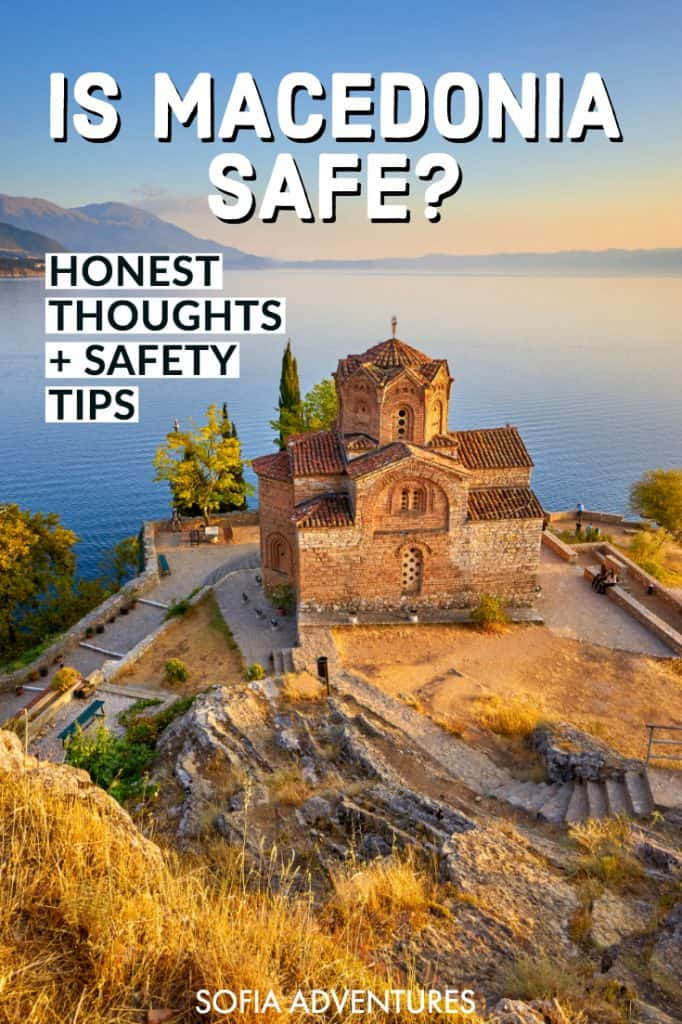 Want to visit the Balkans, but you don't know much about the country of North Macedonia? You may be wondering 'is Macedonia safe' - well, our answer is definitely yes, but we still recommend you follow these basic Macedonia safety tips for having a great time traveling Macedonia, from Skopje, Ohrid, Bitola, and beyond!