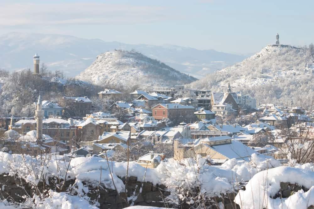 Bulgaria - Plovdiv - Plovdiv - Bulgaria, the winter