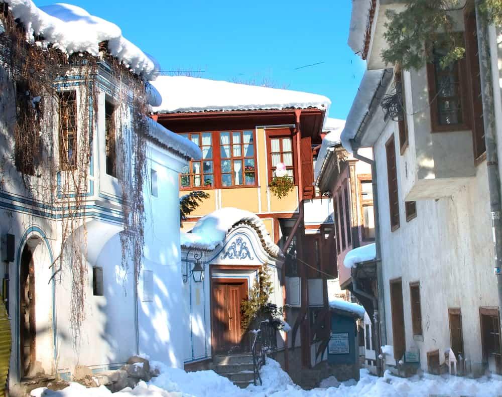 Bulgaria - Plovdiv - Old Plovdiv - Bulgaria, winter