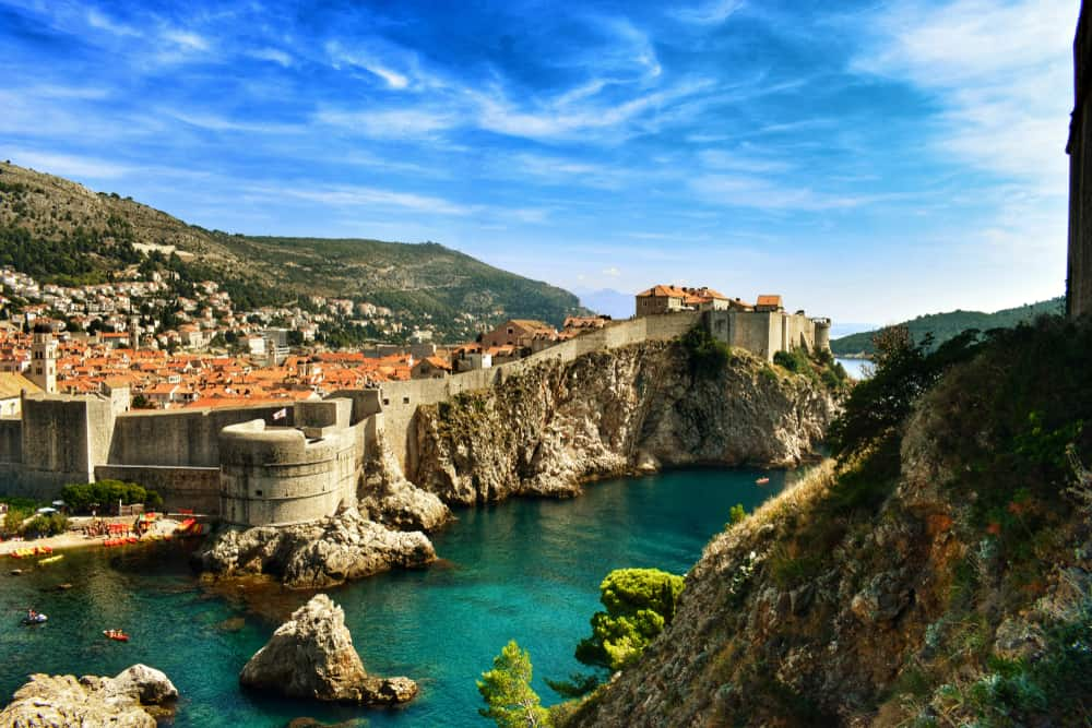 Croatia - Dubrovnik - Dubrovnik, king's landing in game of thrones