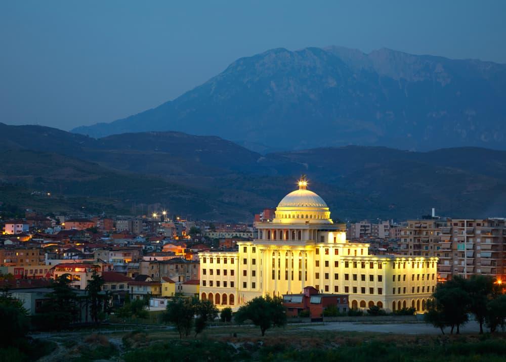 Albania - Berat - At Night